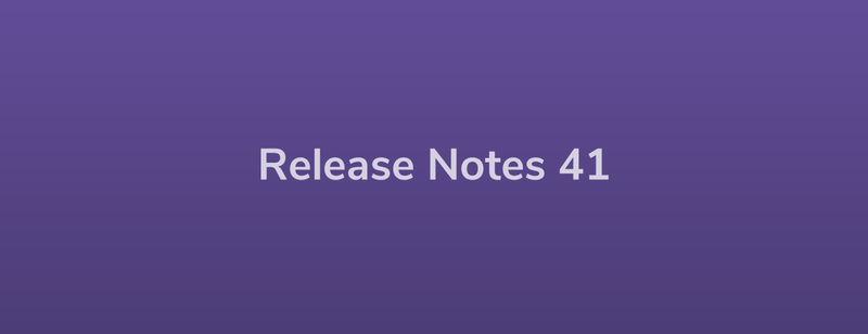 Esper Release Notes – DevRel 41