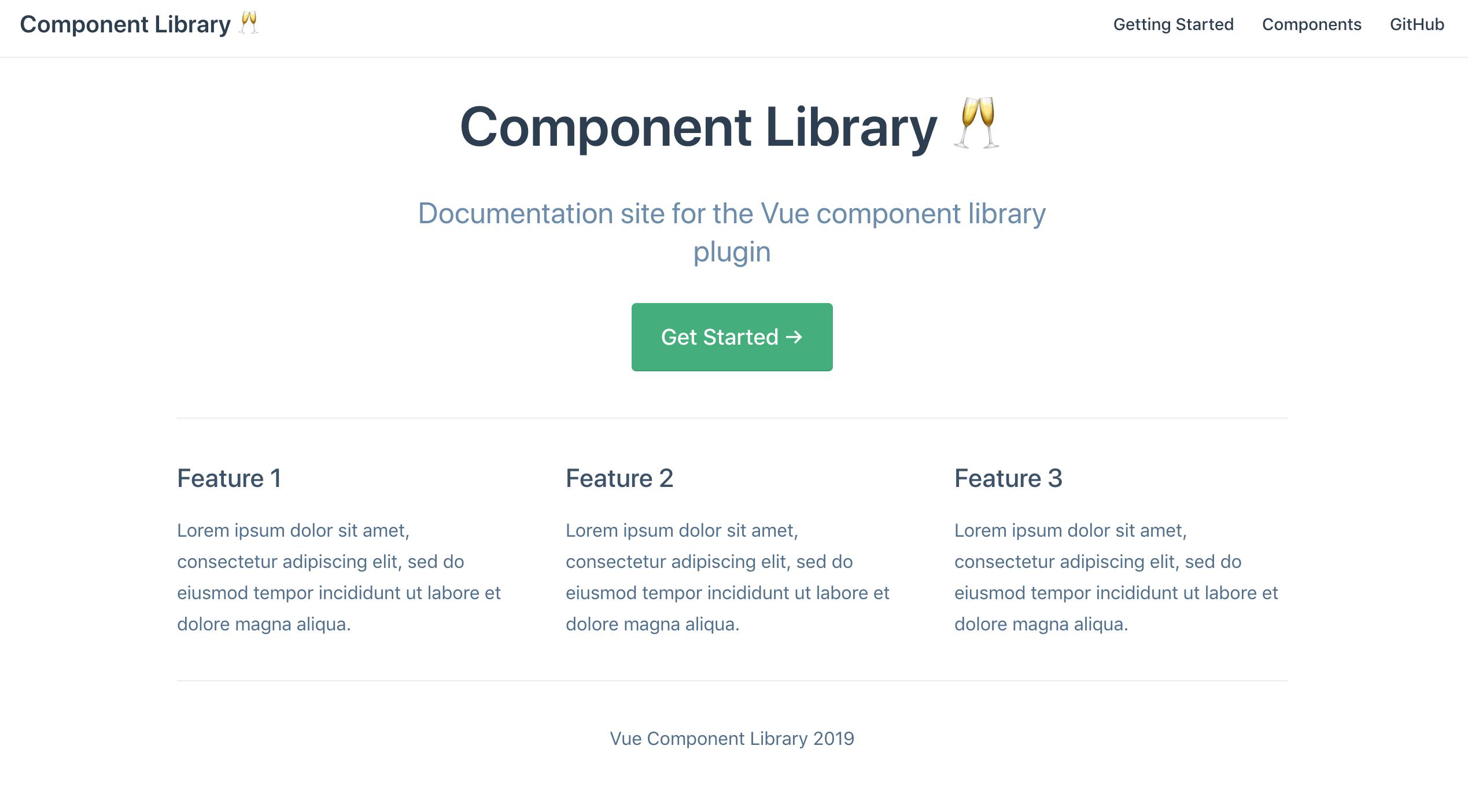 Using VuePress for plugin documentation