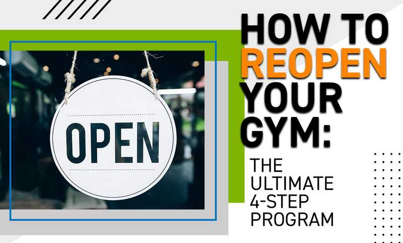 How To Reopen Your Gym - The Ultimate 4-Step Program