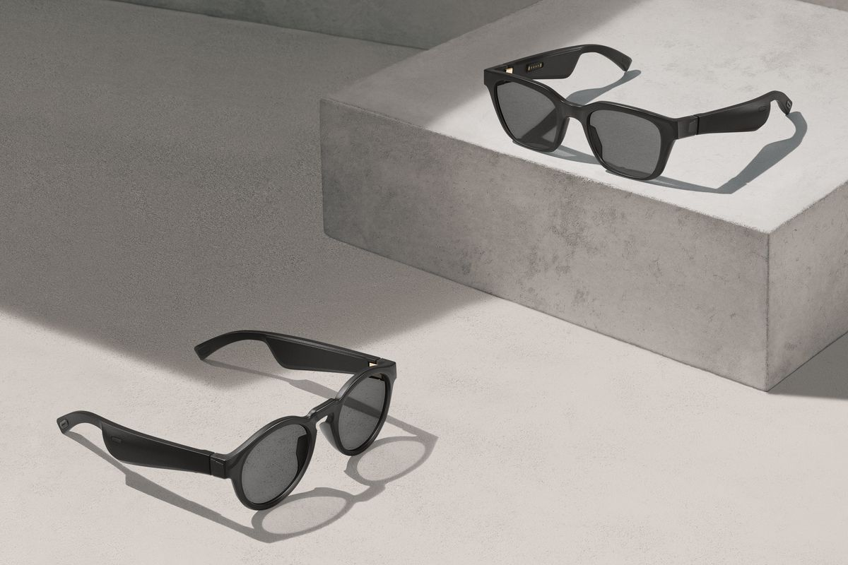 Image of Bose Frames with AR technology