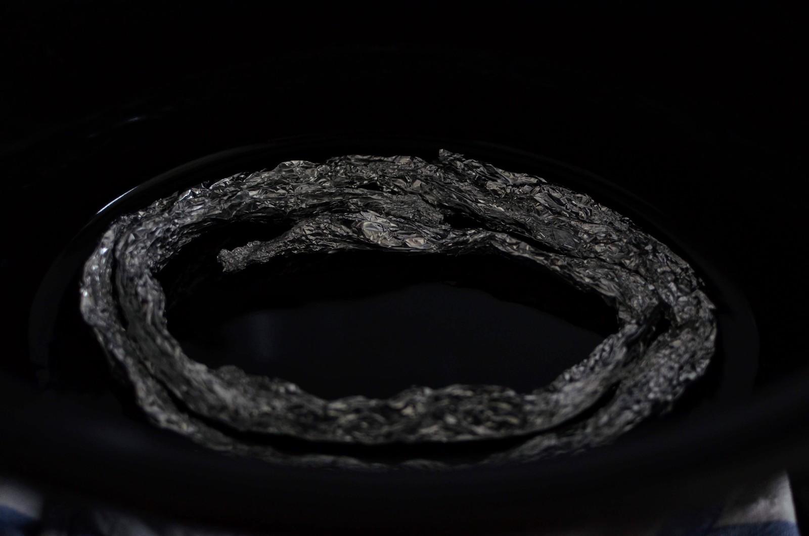 Aluminum foil ring