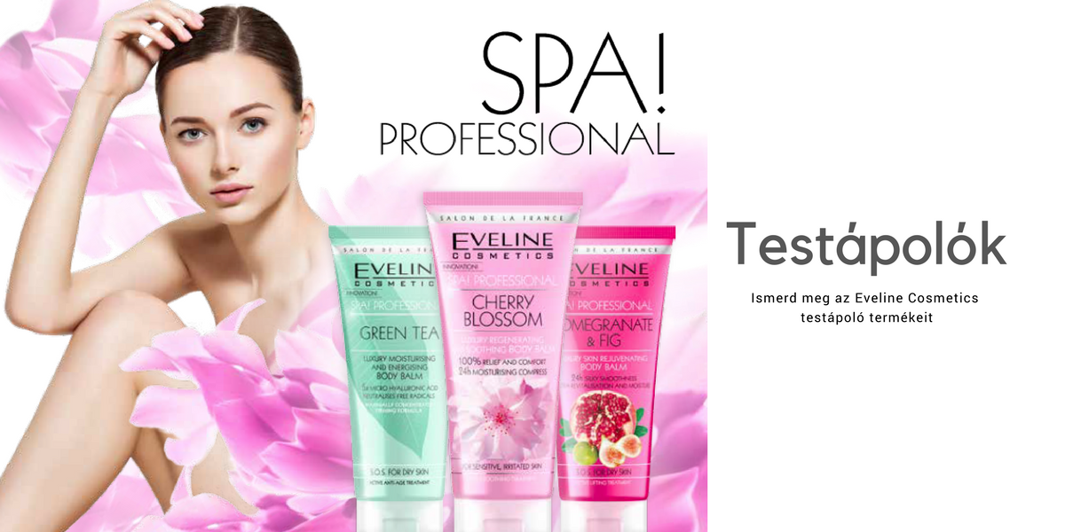 Eveline Cosmetics testápolók, Eveline testápolók