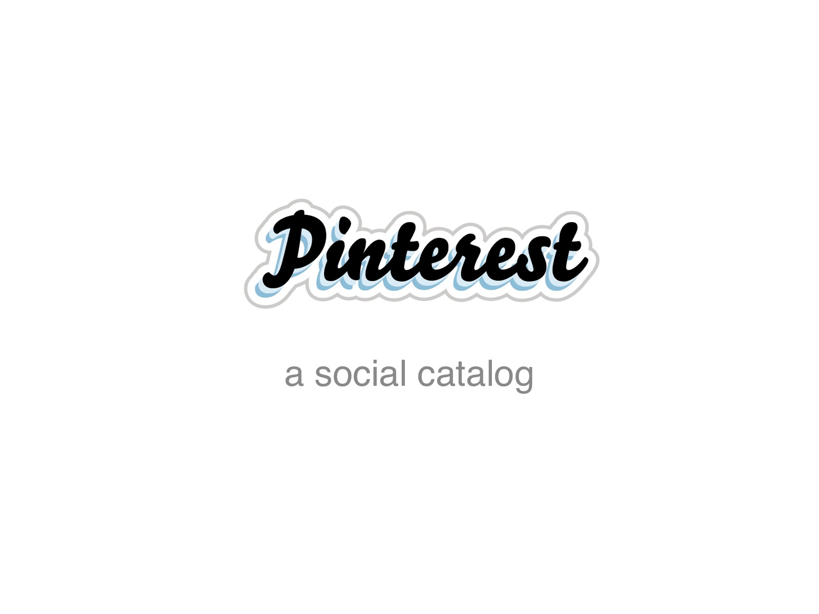 Slide from Pinterest pitch deck