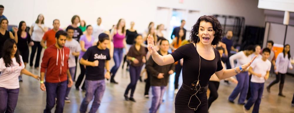Photo of salsa dance workshop