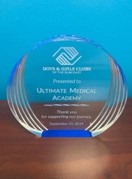 Boys and Girls Club award