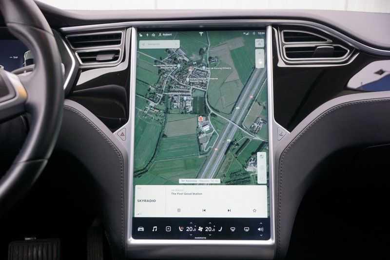 "Tesla Model S 90D Base / 422 PK / Panoramadak / Luchtvering / NL-Auto / 132dkm NAP / 21"" LMV / Leder afbeelding 11"
