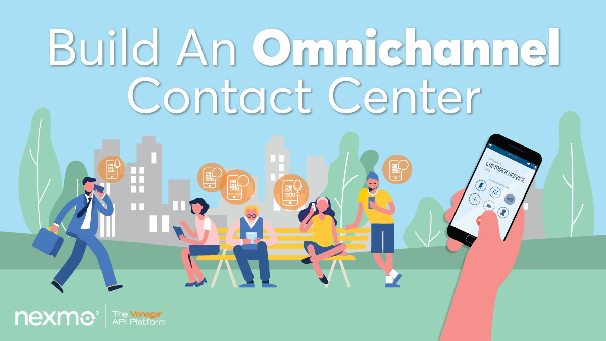 Combine In-App Voice and In-App Messaging to Build an Omnichannel Contact Center