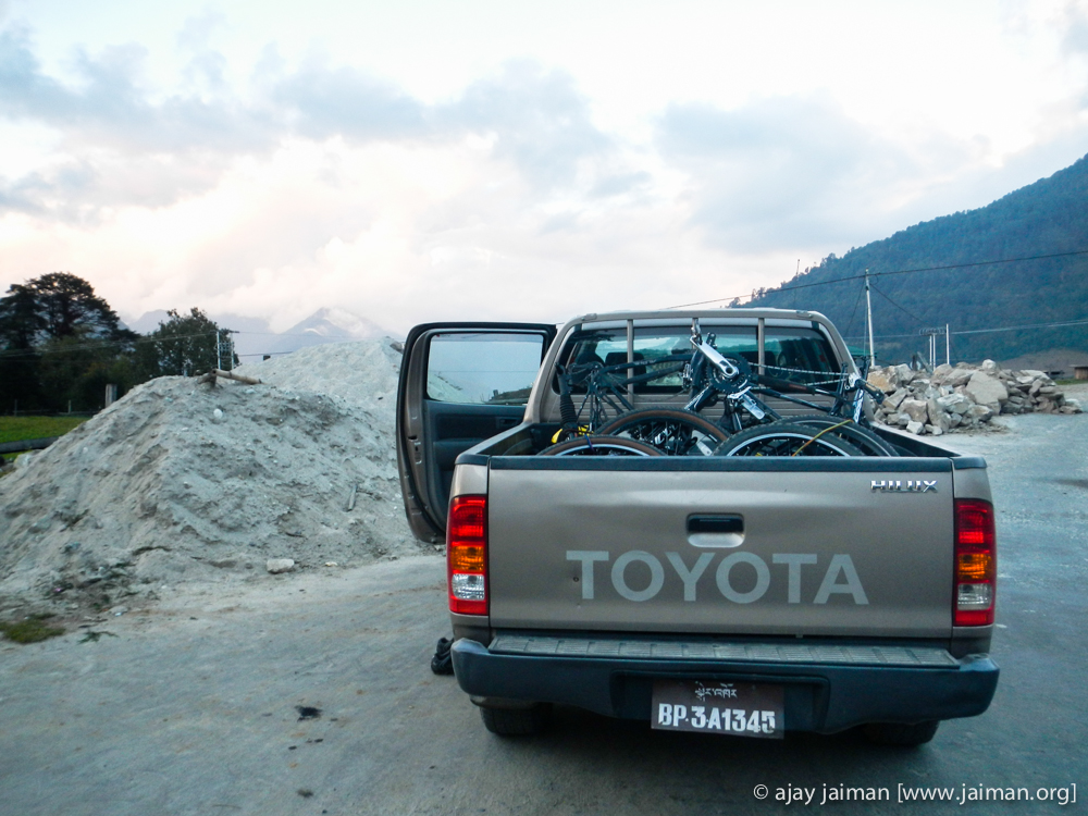 Saviors come in Toyota Hilux.