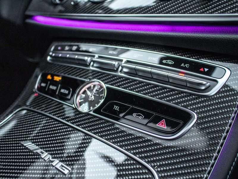 Mercedes-Benz E63 S E-klasse Burmester AMG-Performance-stoelen 63 S AMG 4Matic Premium Plus afbeelding 18