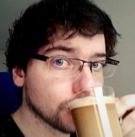 Obligatory coffee selfie
