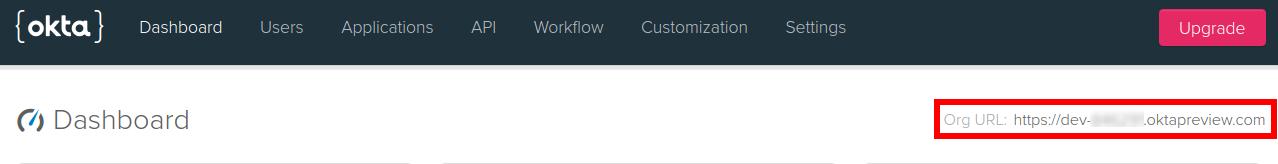 Your Okta Domain URL