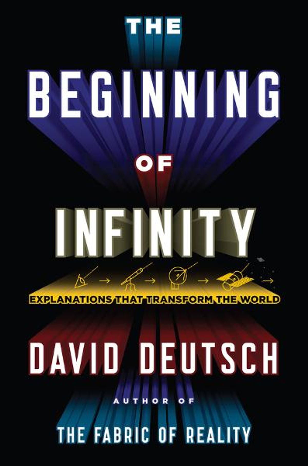 The cover of The Beginning of Infinity