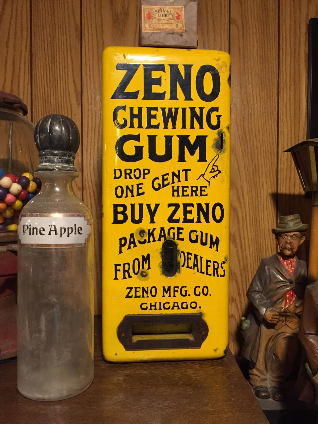 Zeno 1c Gum Vendor