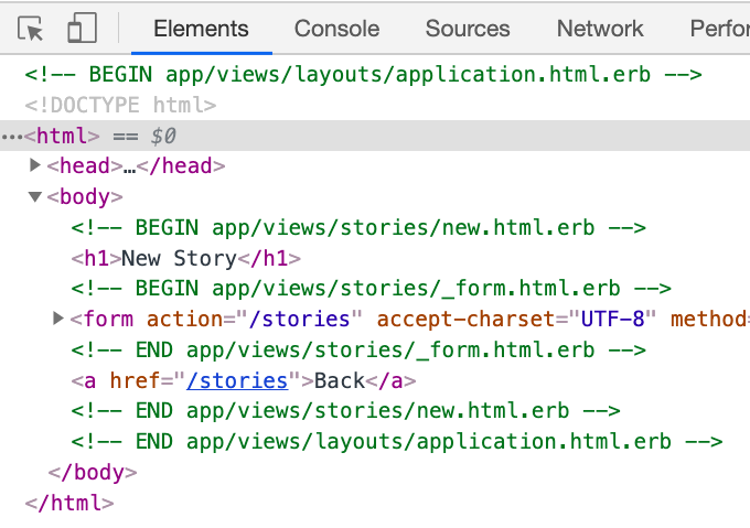 Annotated HTML output