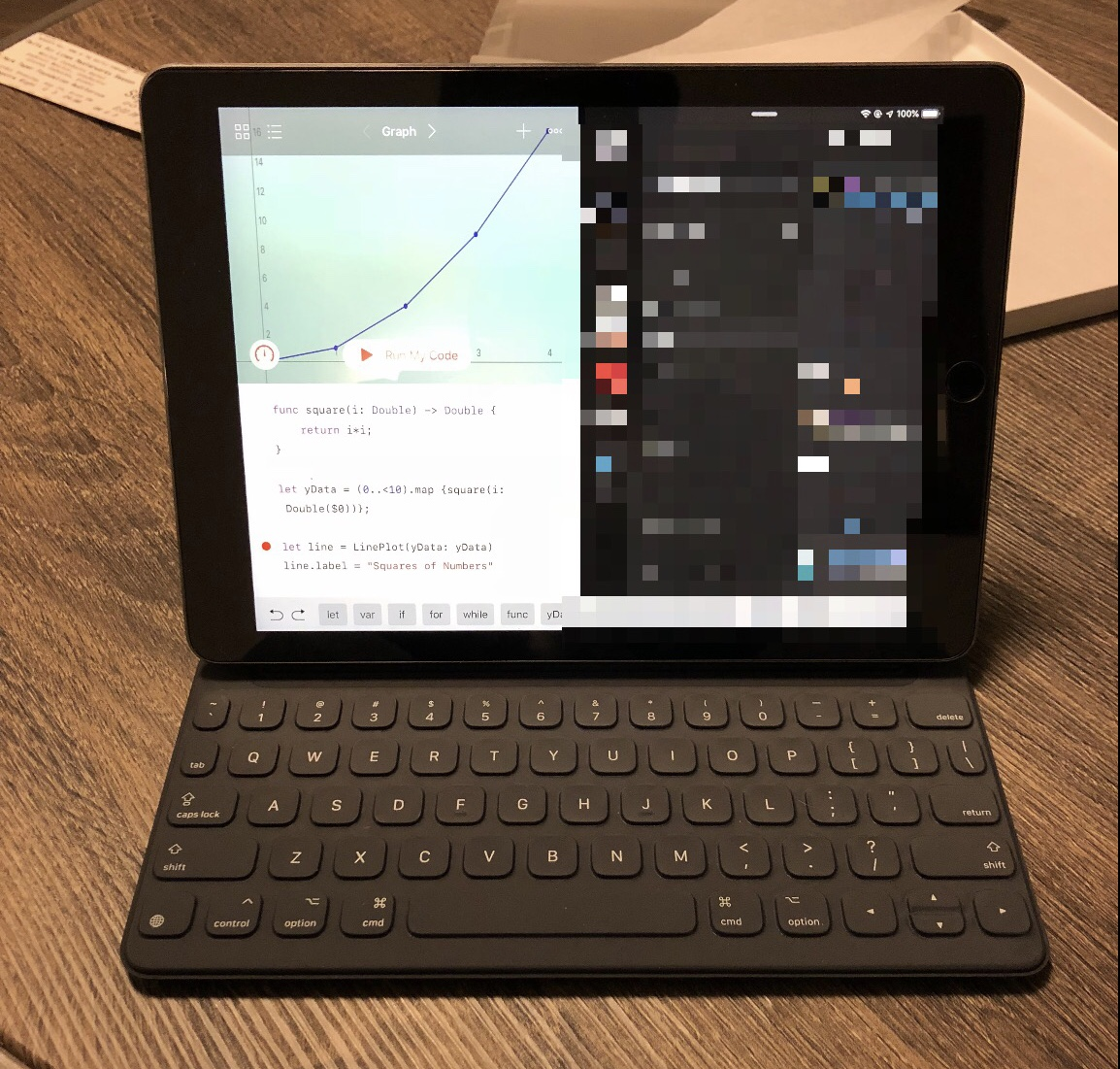 Toward Using the iPad Pro for Development | Ben Congdon