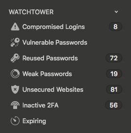 1Password Watchtower