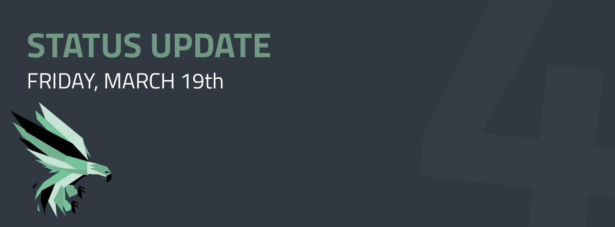 Community Hangout - Status Update: 2021-March