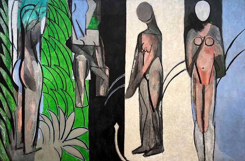 'Bathers by a River' is considered by Henri Matisse to be one of the five most 'pivotal' works of his career, and with good reason: it facilitated the evolution of the artist's style over the course of nearly a decade.