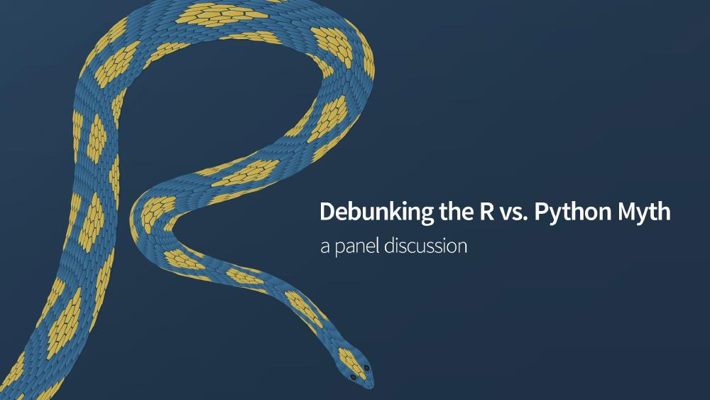 Debunking the R vs. Python Myth