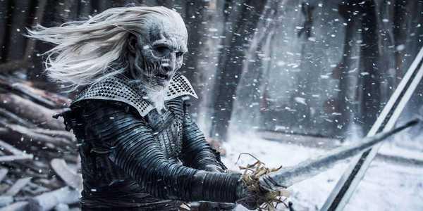 Imagem de um Caminhante Branco de Game of Thrones da HBO