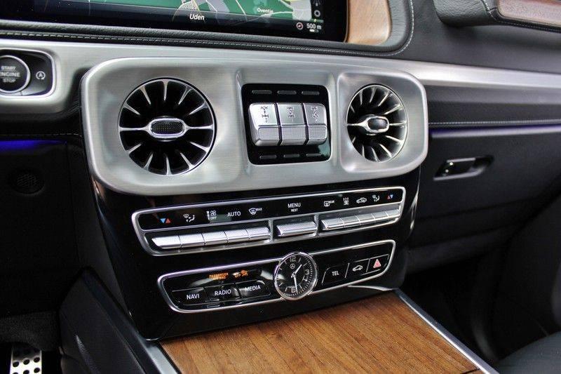 Mercedes-Benz G-Klasse 500 4.0 V8 422pk **360/Distronic/Schuifdak/Trekhaak/DAB** afbeelding 25