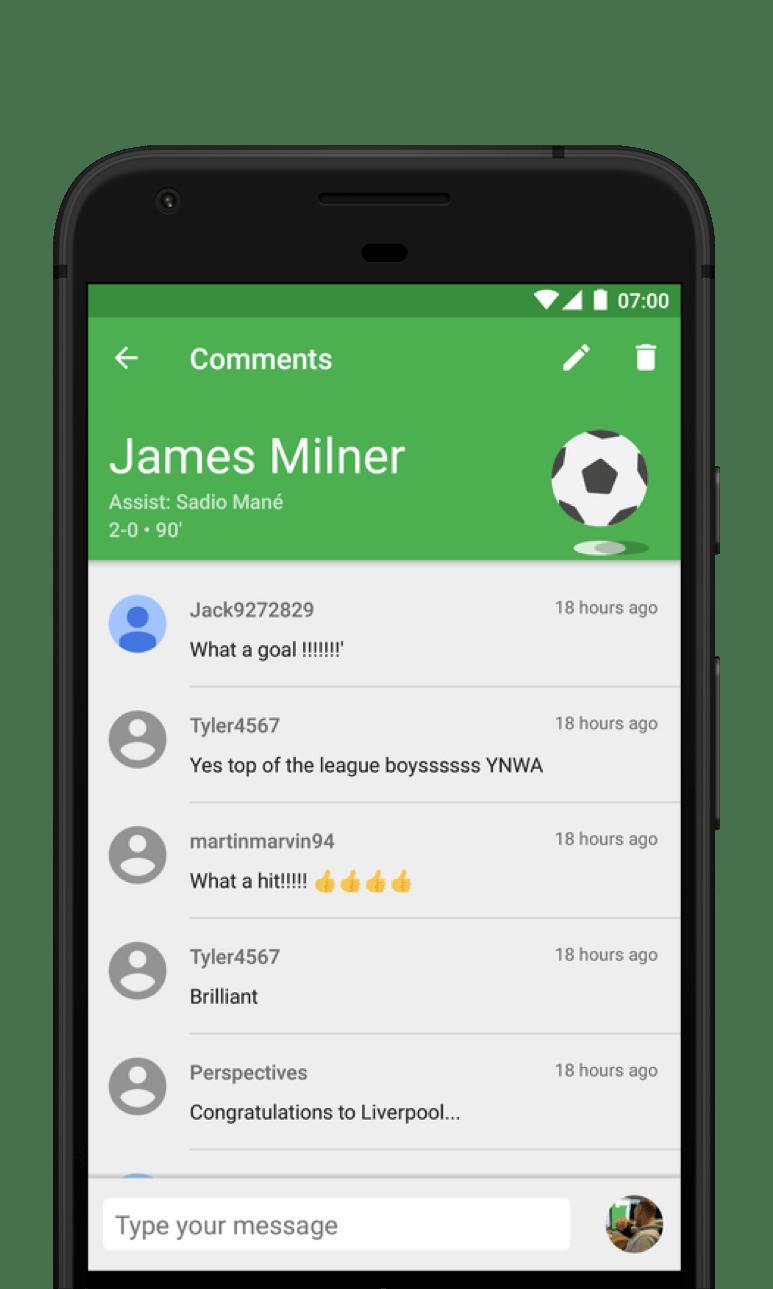 CrowdScores - Live football scores