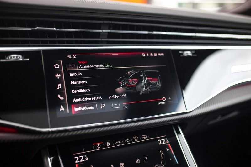 "Audi RS Q8 4.0 TFSI Quattro *RS-Dynamic Plus / Keramisch / Massage / HUD / 23"" / B&O* afbeelding 23"