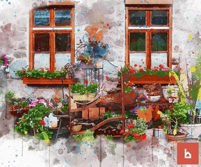 ¿Puedo colocar macetas en un patio comunitario?