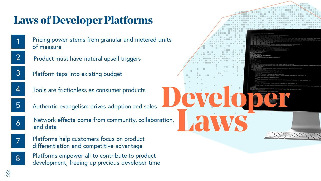 Laws of Developer Platforms