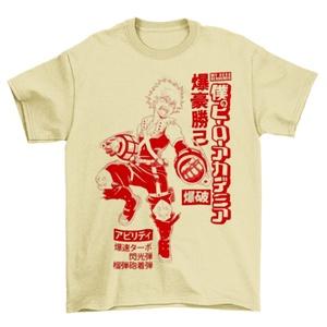 My Hero Academia Katsuki Bakugo Men's Yellow T-Shirt