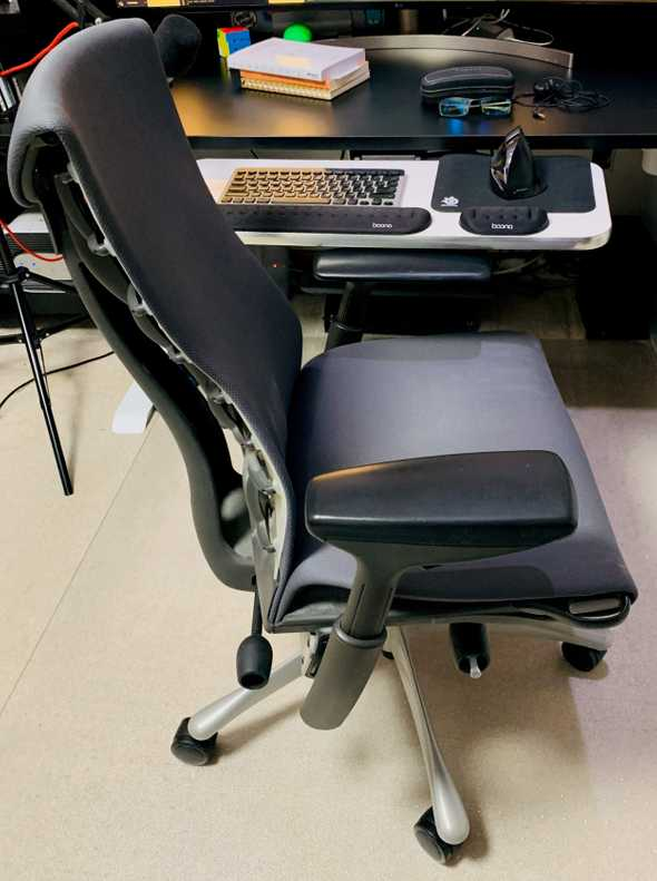 Herman Miller Embody side