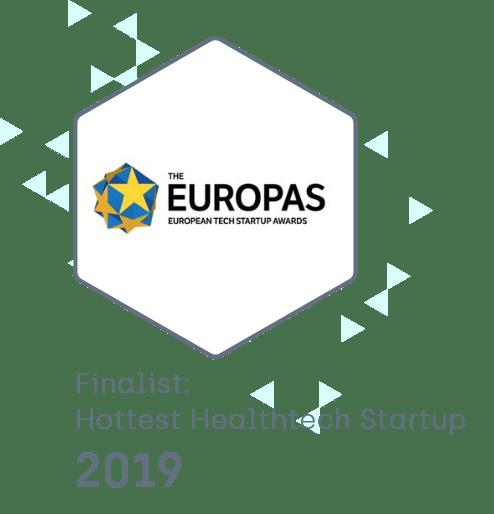 EUROPAS - Hottest Healthtech Startup 2019