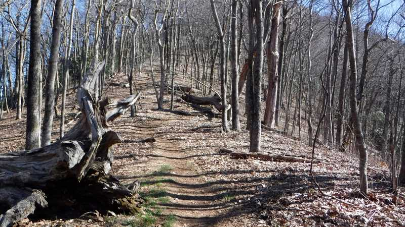 Climb from Bly Gap