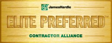James Hardie Elite Preferred Contractor Alliance