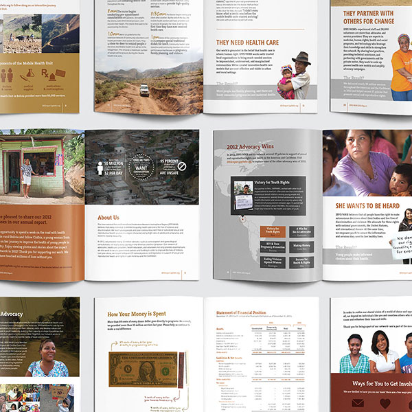 This is a photo of our work on the International Planned Parenthood Federation project.