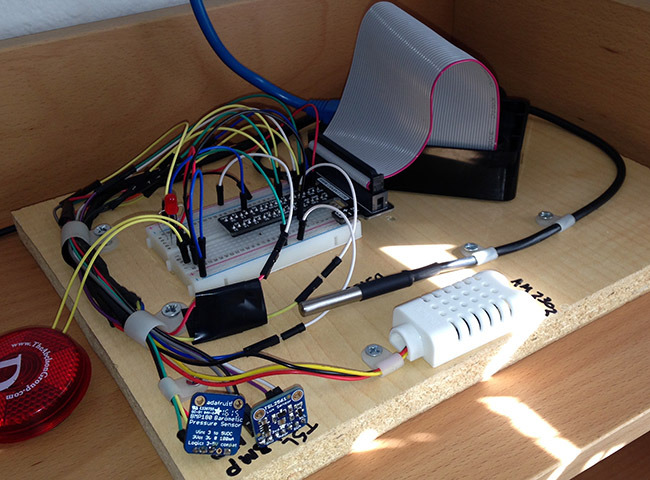 How to build a Weather Station Raspberry Pi 2