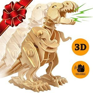 Wowood Trex Dinosaur 3D Wooden Puzzle