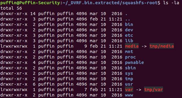 IoT firmware files