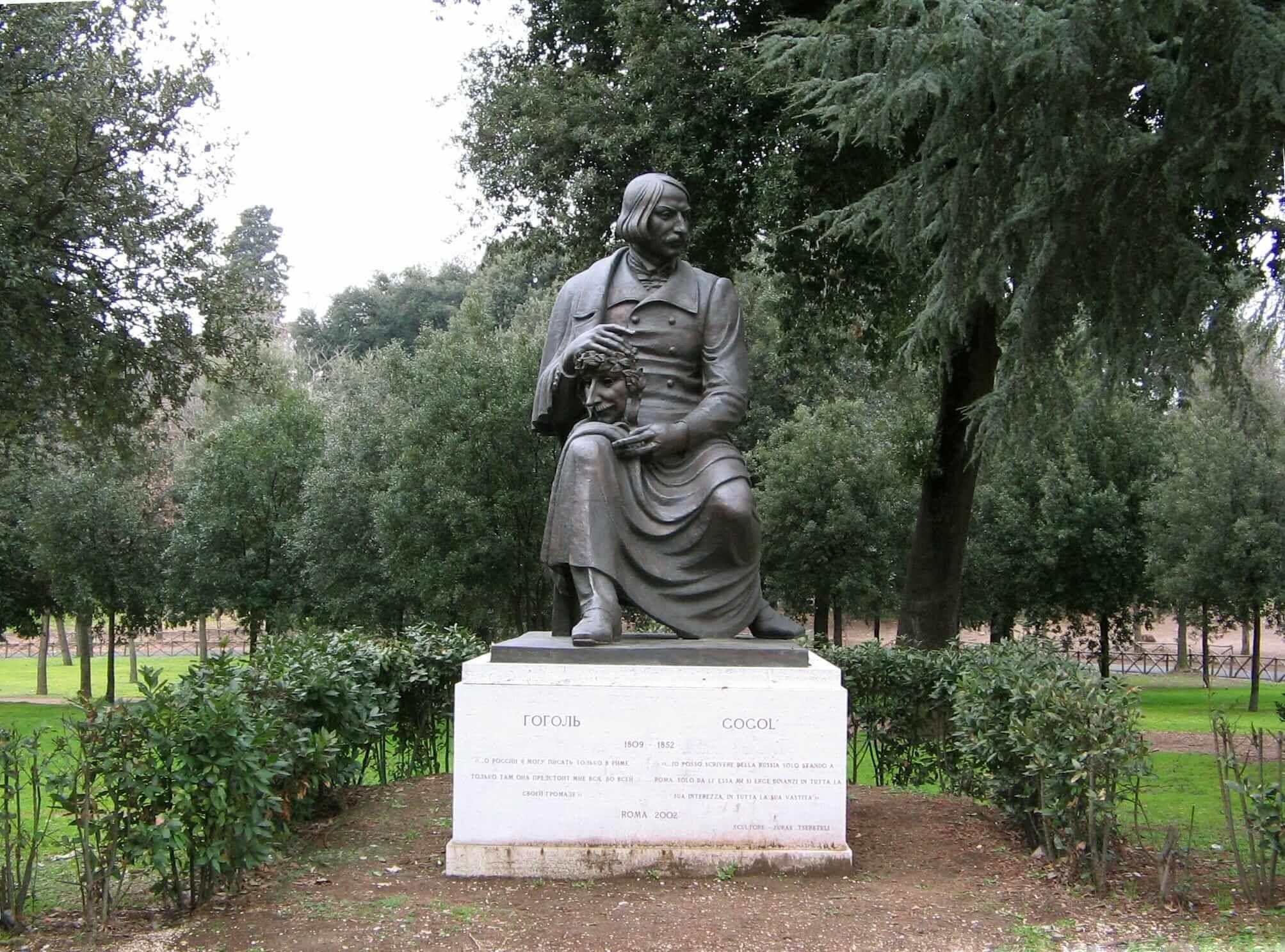 Памятник Николаю Гоголю вИталии / wikimedia.org