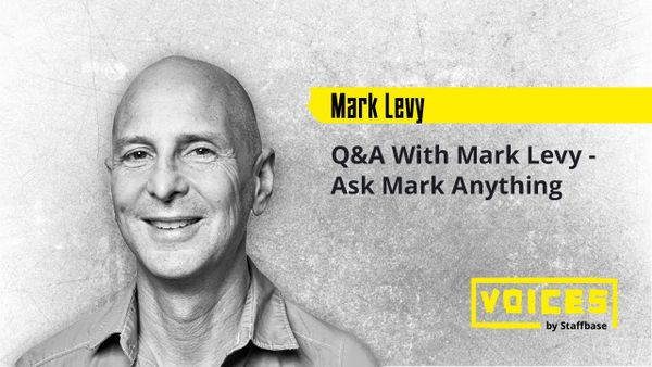 Q&A With Mark Levy - Ask Mark Anything