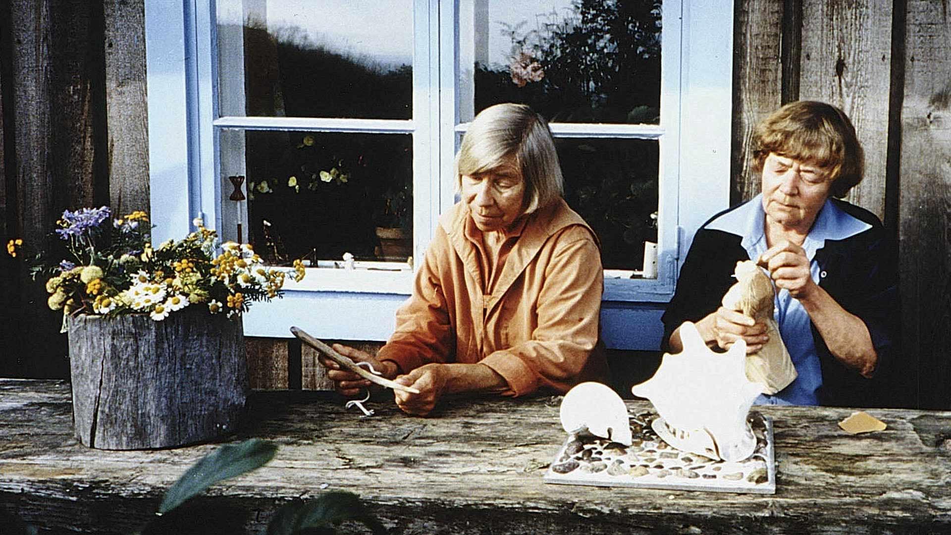 Туве Янссон иТууликки Пиетиля. Фото: images.cdn.yle.fi
