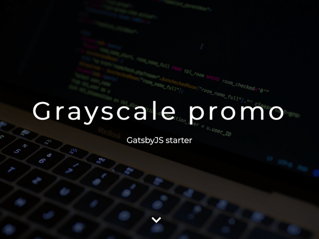 Grayscale Promo- cover