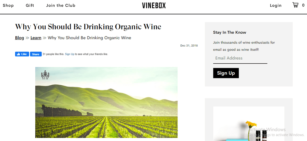14 educate with content for customer retention vinebox