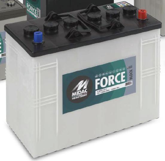 Trakční bloková baterie 12MFB105T
