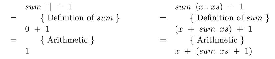 Proof of sum = fold