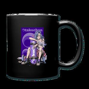 Otakuchan Black Mug