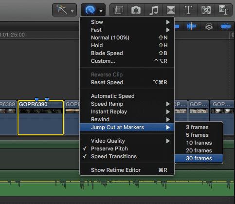 Edit Jump Cuts
