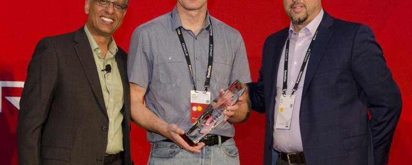 Accruent - Resources - Press Releases / News - Accruent Receives Oracle Cloud Innovation Award for Data Integration - Hero