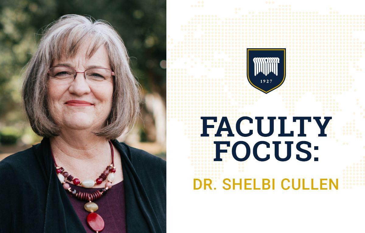 Faculty Focus: Dr. Shelbi Cullen