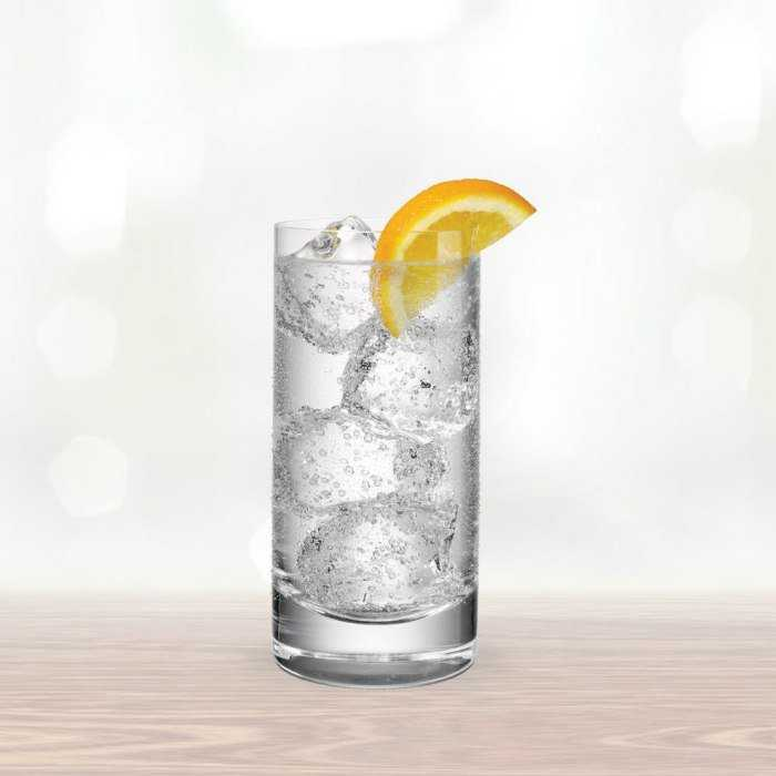 Vodka And Tonic Cocktail